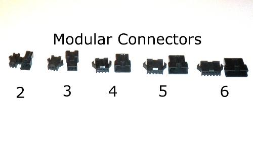 2 Modular Connector set for scooters